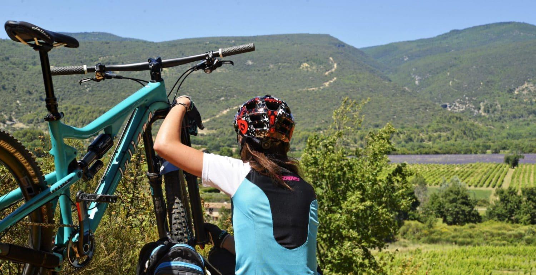 test VTT femme juliana Roubion 2015 descente enduro vue