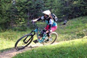 bike park serre chevalier piste bleu capucine