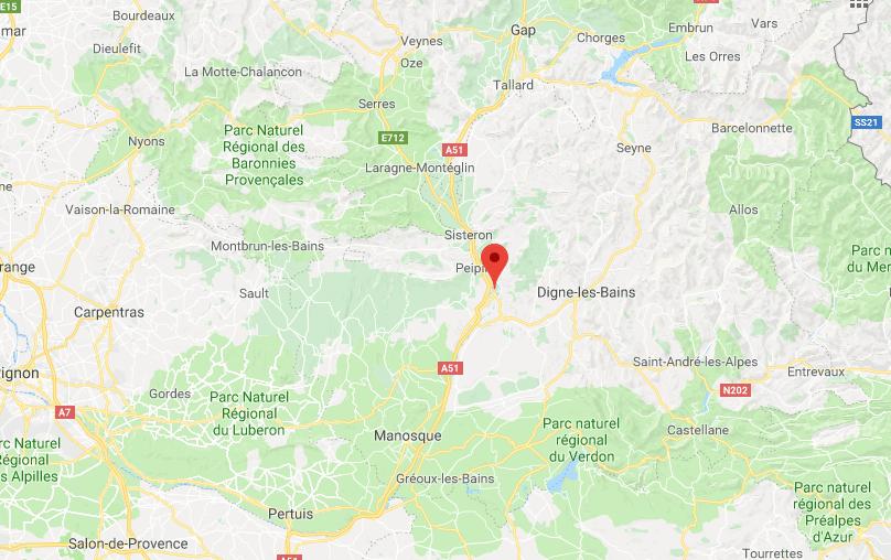 maps Chateau arnoux test IBIS VTT MOJO 3